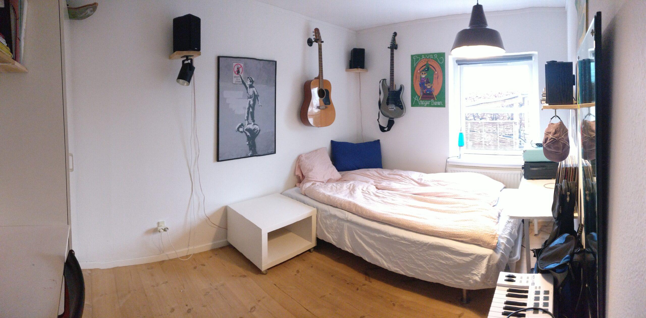 værelse stueplan panorama